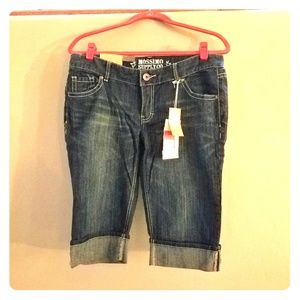 Mossimo long denim shorts!